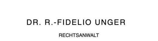 Dr. jur. R.-Fidelio Unger
